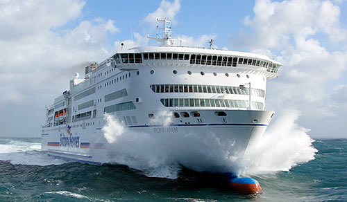 couloir maritime : Brittany Ferries, Pont Aven