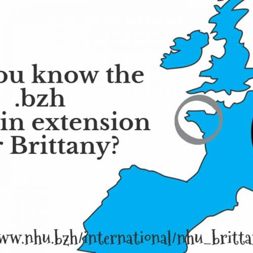 ✅ The .bzh domain extension for Brittany