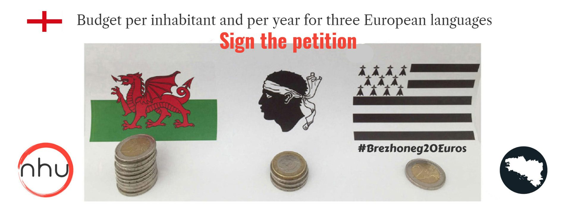 ✅ #Brezhoneg20Euros : Please, sign this petition