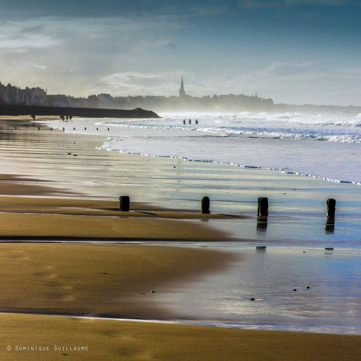 photo bretagne plage du sillon saint malo par dominique guillaume photographe en bretagne. Black Bedroom Furniture Sets. Home Design Ideas