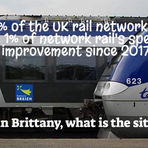 ✅ Railways in Brittany and Wales, or the scandal of French centralism.