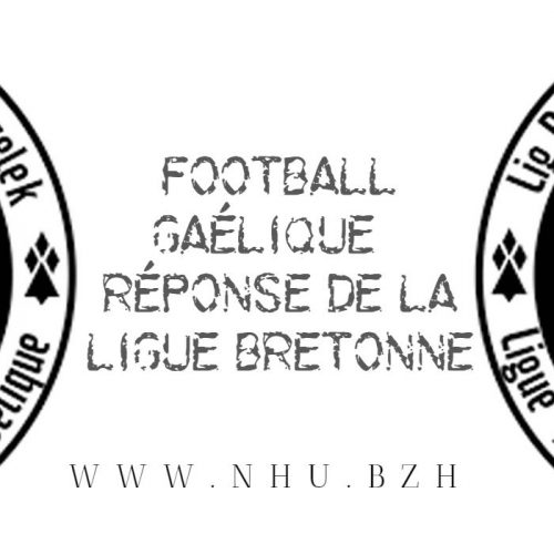 Football gaélique : réponse de la Ligue Bretonne